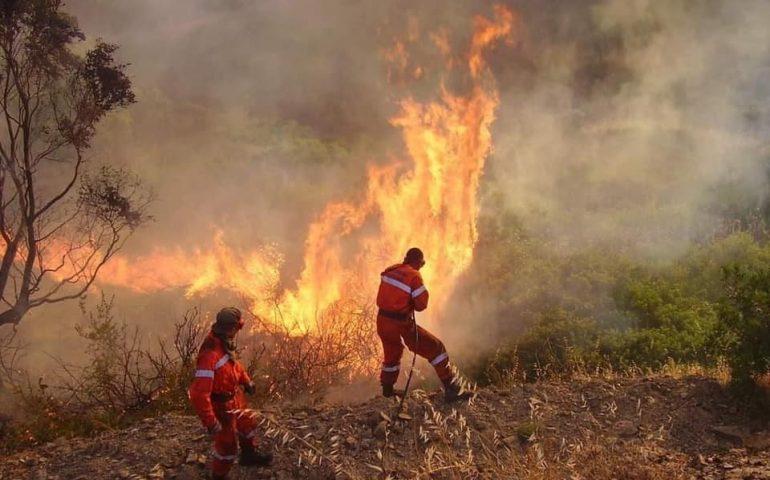 Emergenza incendi: Ortueri solidale con i comuni coinvolti!