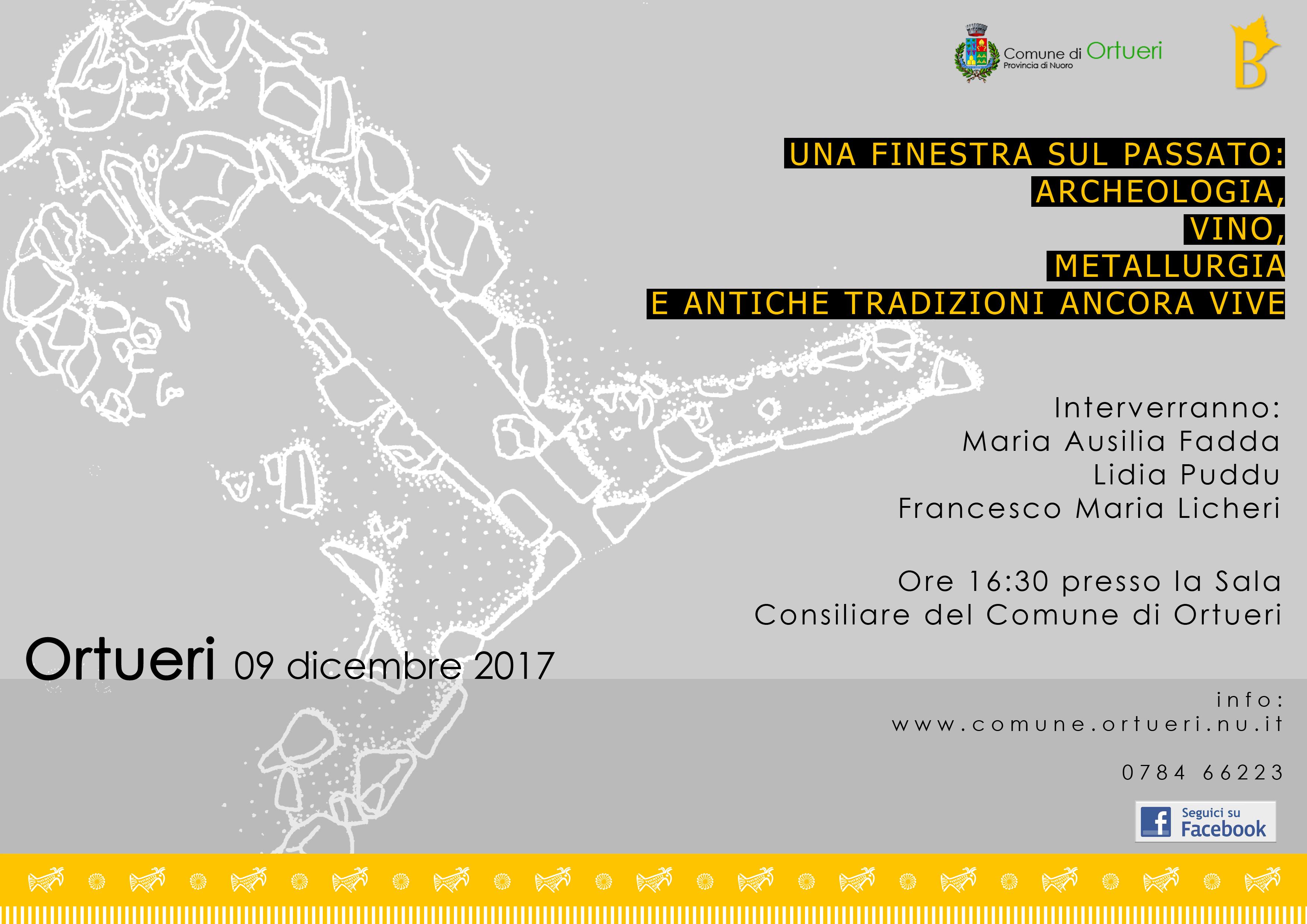 AUTUNNO IN BARBAGIA - COLORES E SABORES DE ATONGIU- CONVEGNO 9 DICEMBRE 2017